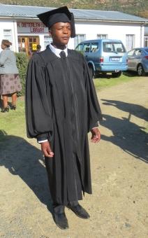 Graduating Evangelist Mr. Bernard Tumo Ramorena